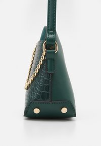New Look - KIERAN LIZARD MINI KETTLE - Across body bag - dark green - 3
