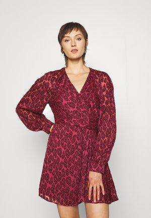TIESTINA - Day dress - pink/black