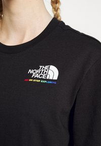 The North Face - RAINBOW TEE - Print T-shirt - black - 4