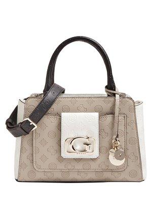 Handbag - beige multi