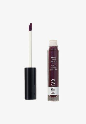 MATTE LIQUID LIPSTICK - Flüssiger Lippenstift - black grape