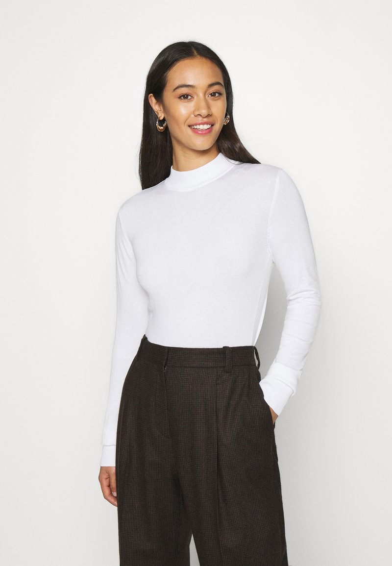Monki - INGRID  - Strickpullover - white