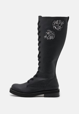 NEEDRA - Lace-up boots - black