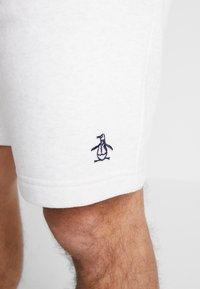 Original Penguin - STICKER PETE - Teplákové kalhoty - light grey melange - 6