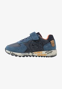 Geox - ALBEN BOY - Trainers - navy/orange - 1
