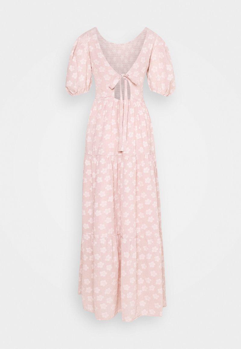 Sister Jane MOTHER'S MIND TIERED MIDI DRESS - Maxikleid - pink/rosa kfmQGe