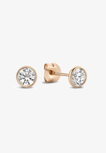 14 KARAT GOLD  - Earrings - roségold