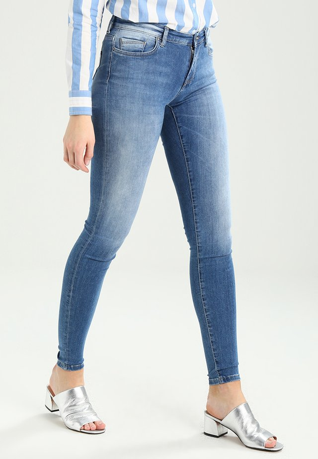 ONLSHAPE - Vaqueros pitillo - light blue denim