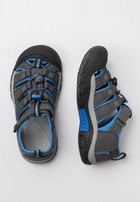 Keen - NEWPORT - Walking sandals - magnet/brilliant blue - 1