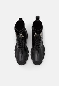 TWINSET - ANFIBIO FONDO COMBAT - Lace-up ankle boots - nero - 4