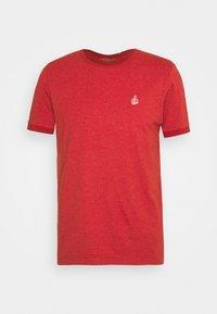 s.Oliver - KURZARM - T-shirt basique - orange - 4