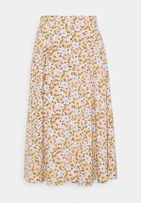Monki - SIGRID BUTTON SKIRT - A-line skirt - rose - 4