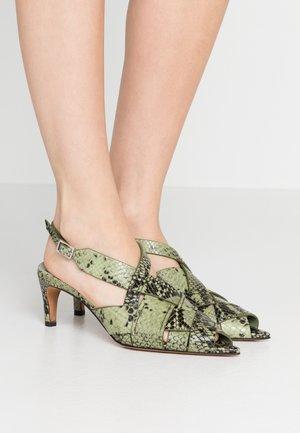 NINA  - Sandals - pale green