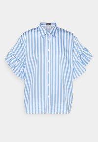 AINA - Button-down blouse - leo blau