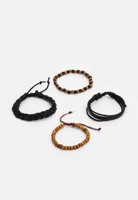 ALDO - JOASH 4 PACK - Bracelet - brown/black - 0