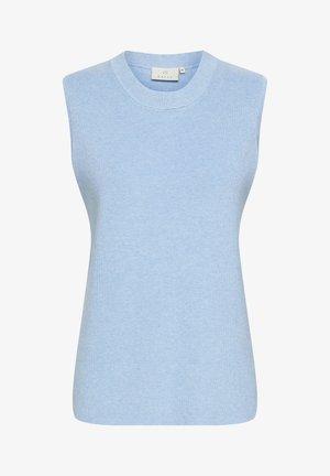 Top - chambray blue melange