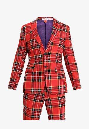 THE LUMBERJACK - Kostym - red/black