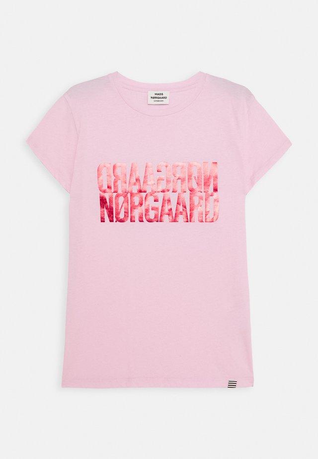 DIP TUVINA - T-shirt imprimé - soft pink