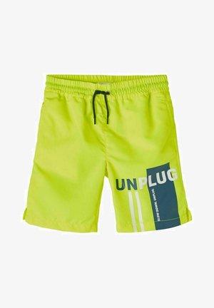 Swimming shorts - safety yellow