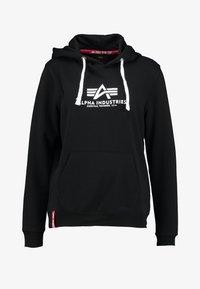 Alpha Industries - NEW BASIC  - Hoodie - black - 3