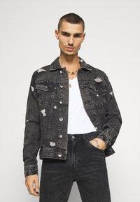 Redefined Rebel - BARNEY JACKET - Denim jacket - mid grey - 0