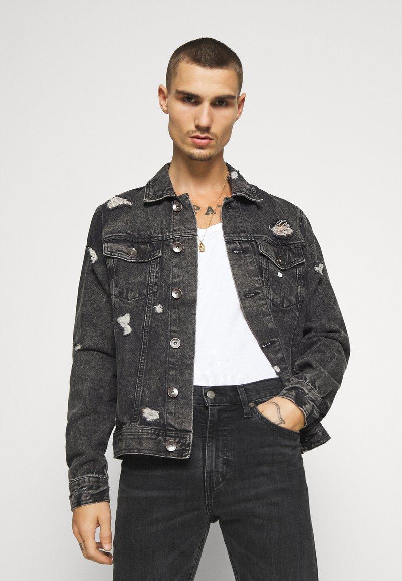 Redefined Rebel - BARNEY JACKET - Denim jacket - mid grey