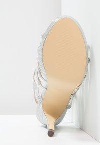 Menbur - BEGONIA - High heeled sandals - plata - 5