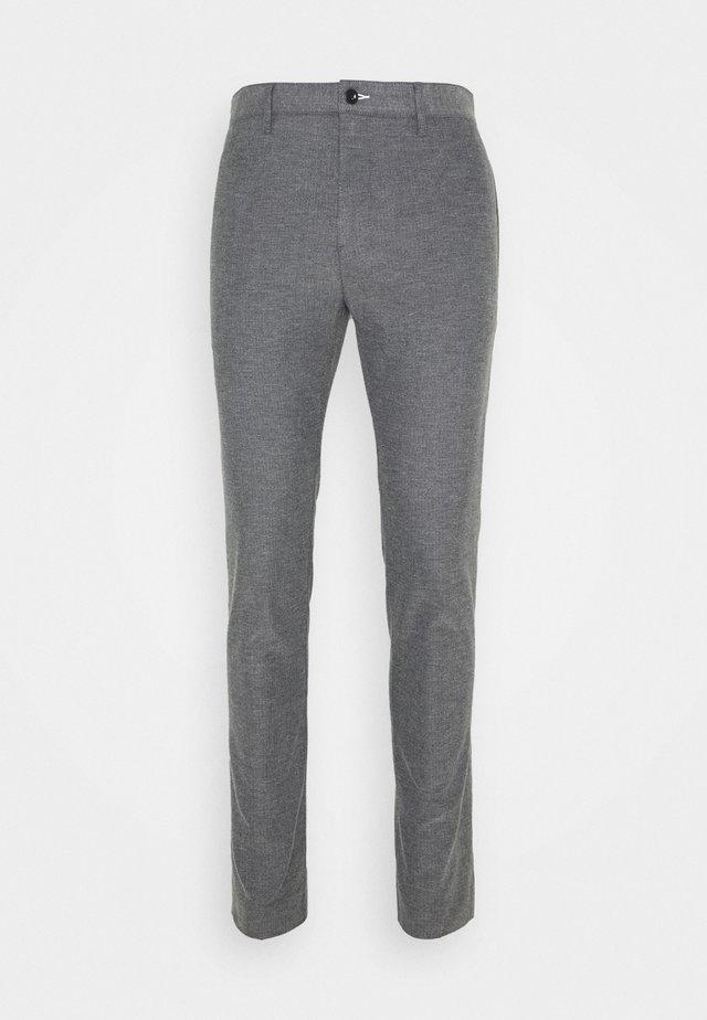 Trousers - charcoal melange