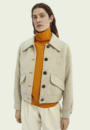 Light jacket - off white melange