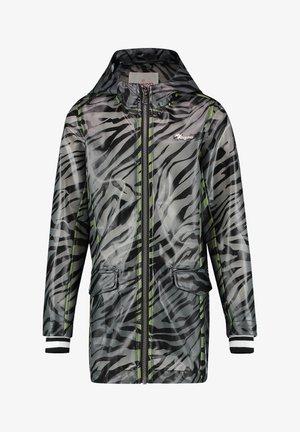 Waterproof jacket - deep black