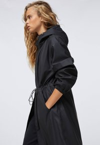 OYSHO - Waterproof jacket - black - 4