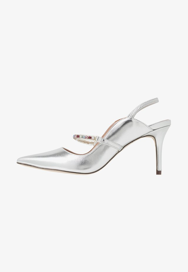 OULAYA - Classic heels - silver