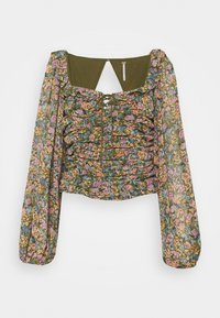 Free People - MABEL PRINTED BLOUSE - Blouse - multi-coloured - 0