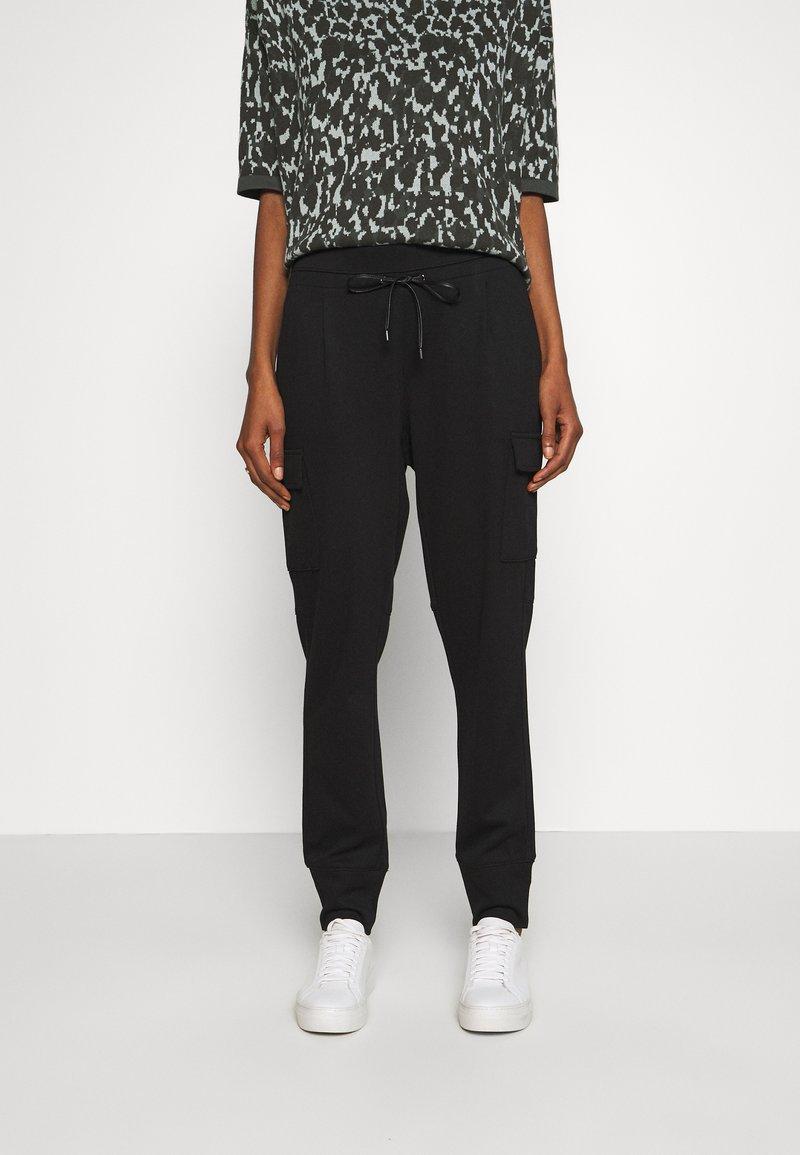 Opus - ELENI - Kalhoty - black