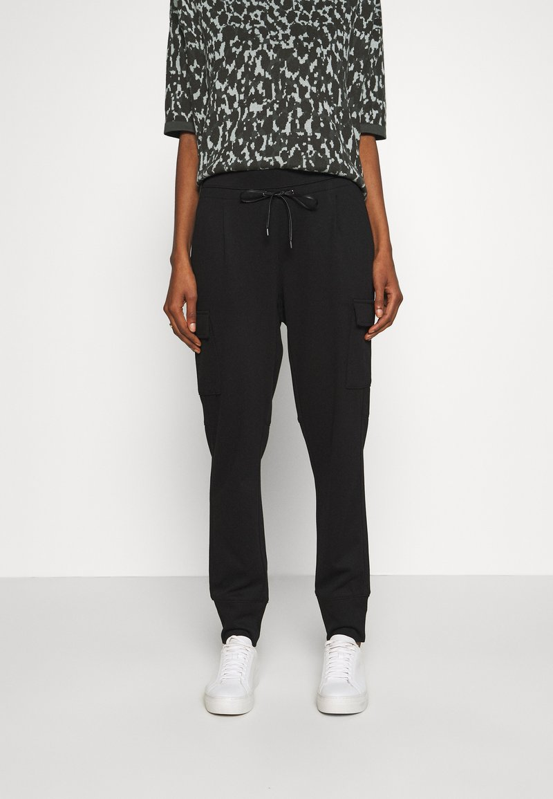 Opus - ELENI - Pantalones - black
