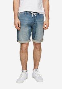 QS by s.Oliver - Denim shorts - blue - 5