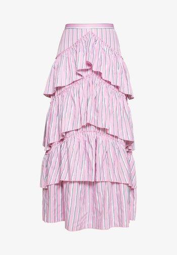 THE LALITO SKIRT - Maxi sukně - stripe
