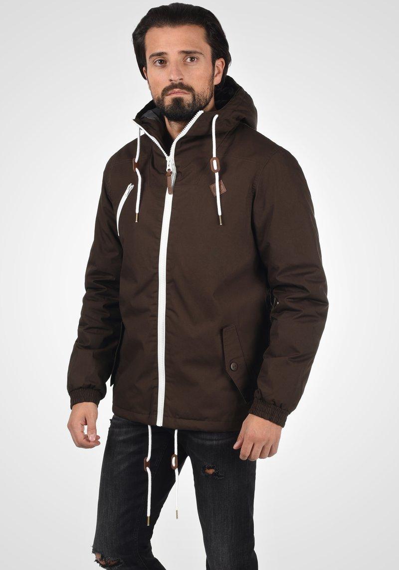Solid - TILDEN - Light jacket - coffee bean