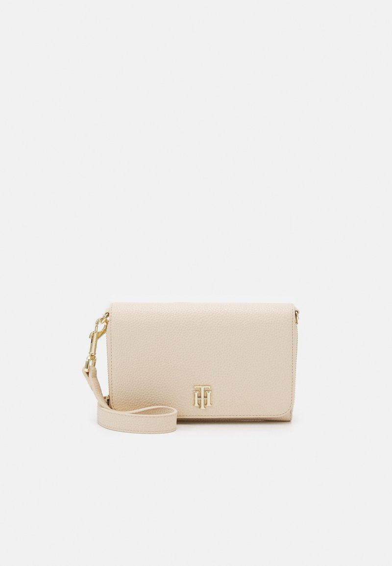 Tommy Hilfiger - SMALL CROSSOVER - Across body bag - beige