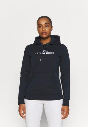 ALPHA HOOD - Sweatshirt - navy