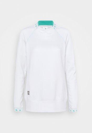 EQUIPMENT CREW  - Pitkähihainen paita - white