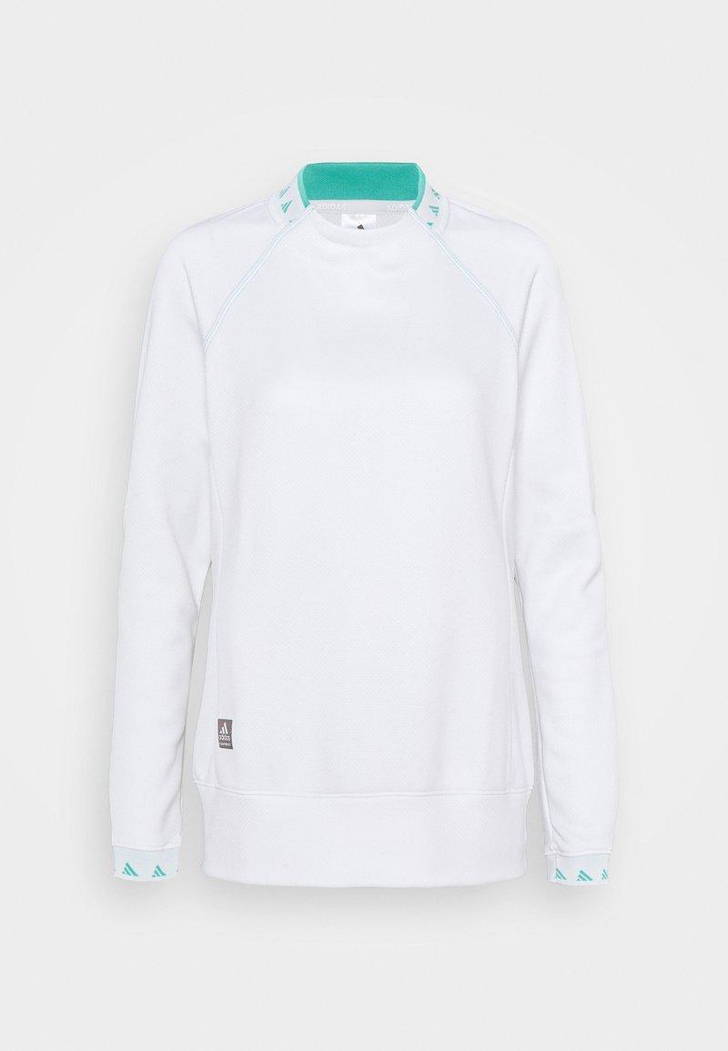 adidas Golf - EQUIPMENT CREW  - Long sleeved top - white