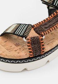 Casadei - Sandales à plateforme - papeete/multicolor - 6