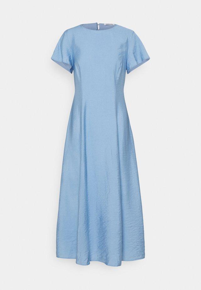 MARLEN DRESS - Vestito lungo - blau