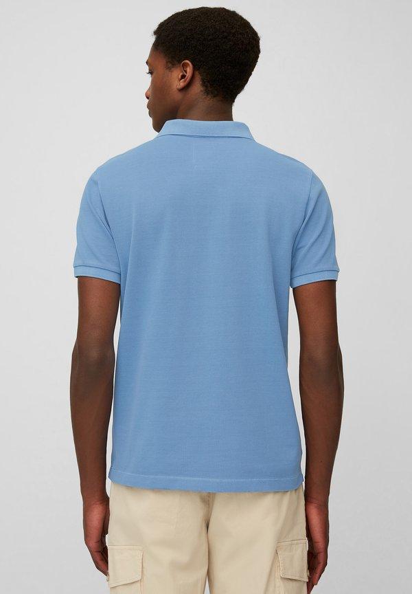 Marc O'Polo Koszulka polo - kashmir blue/niebieski Odzież Męska EVMJ