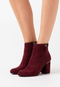 XTI - Ankle boots - burgundy - 0