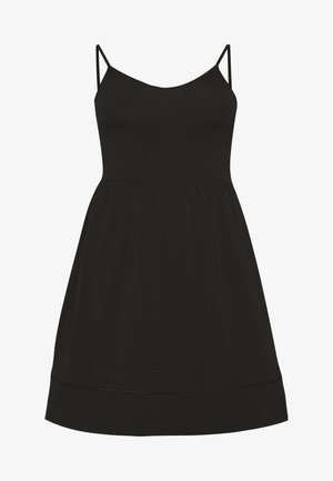 CARKALLON LIFE KNEE DRESS - Jersey dress - black