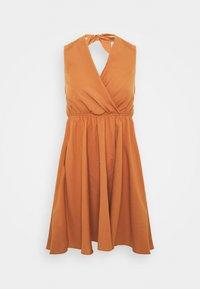 Trendyol - LACIVERT - Day dress - camel - 4