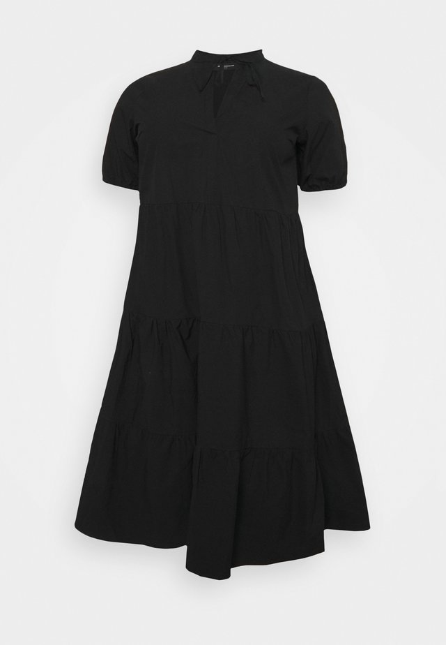 CARCORINNE CALF DRESS - Hverdagskjoler - black