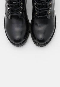 mtng - MAYA - Šněrovací kotníkové boty - black - 5